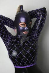 Purple and Black by LatexModel