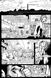 Time Dollars Issue One Pg 1 by patrickstrange