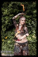Postapocalyptic Tribal Belly Dance Costume by SheevrasHain