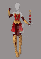 :: MAR Commission 05: Outfit Design :: by VioletKy