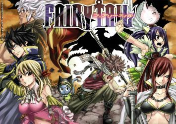 Fairy Tail Wallpaper Edit by Me by Siegfried87