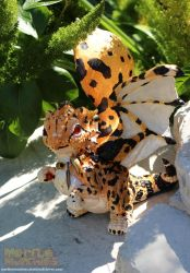 King Cheetah Spirit Hatchling by The-SixthLeafClover