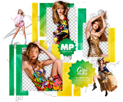 PACK PNG 1089| GIGI HADID. by MAGIC-PNGS