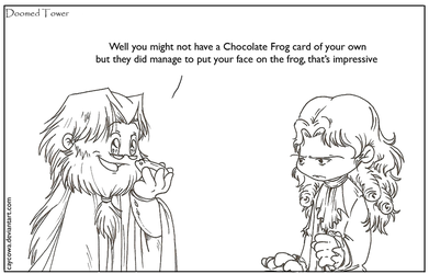 DT- Chocolate frog by caycowa