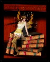 Book Faery by taterbug
