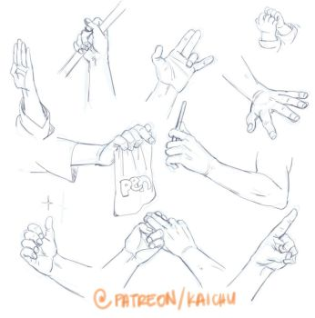 Practice Sheets - Hands by kai-choo