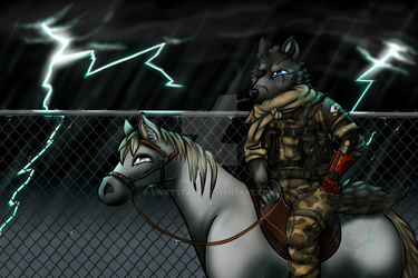 Metal Gear Solid V : The Phantom Pain by Swiftstack