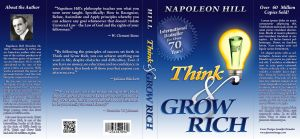 Think and Grow Rich - Book Cover by whitefantom