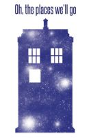 Tardis - Places We'll Go by khiro