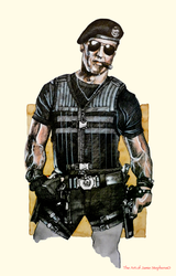 Barney Ross Expendables 3 by Jamos2007