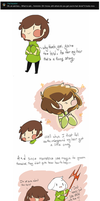 ASK Chara: Who does your hair?  by techfreak107