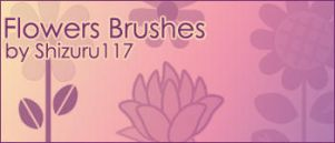 Flowers Brushes by Shizuru117