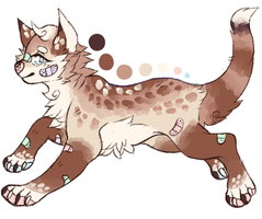 cat/dog hybrid adopt -CLOSED- by baedopts
