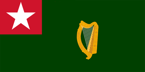 Titanic Colony: Flag of New Eire by ArthurDrakoni