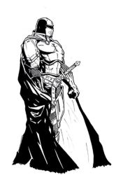 Knight Concept..Old pic by elven-jedi