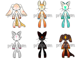 Sier Adopt Set (OPEN) lowered by glittergloo