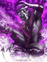 X-MEN: Nightcrawler by ArtofTu
