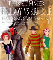 Hellboy Vs Krueger by syxx