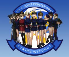 Strike Witches (WWI uniforms) by orz57