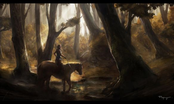 Forest ride (WIP) by PapayouFR
