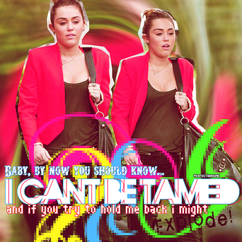 Cant be tamed (Blend) by stopmakingmistake