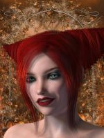 RED HEAD High Res by REDANTArts