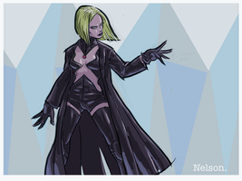X-Man of the day: EMMA FROST (2) by NelsonHernandez