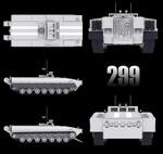 Object 299 Tank test vehicle W.I.P 3 by Yaskolkov