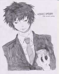 Hibari 10 years later by Sharky96