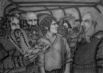 The Hobbit + video (50x70cm) by xGuppy