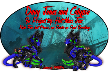 Davey Jones And Calypso by Bml1997