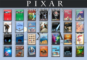 Pixar Short's Movie Icon Complete Collection 1984+ by WimboJallis121