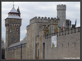 Cardiff Castle by Xeno834