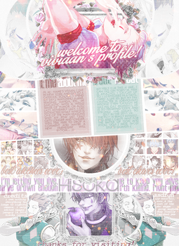 Hisoka Layout by Vivicchii