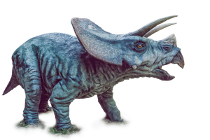 Dinosaur, Triceratops, PNG by fumar-porros