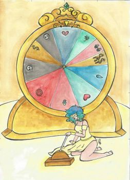 The wheel of Fortune by MewYare