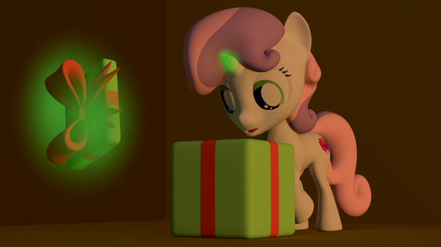 Sweetie Belle's mystery present by EDplus