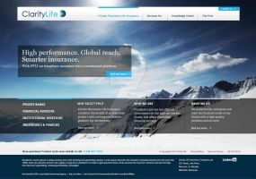 ClarityLife Website Home Page Design by Simanto-90