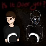 silhouette [dan howell-- possible PMV??] by oh-no-Castiel