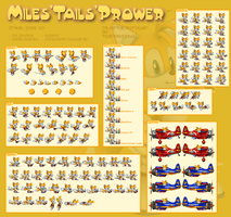 Miles Tails Prower by Team-Hedgehog