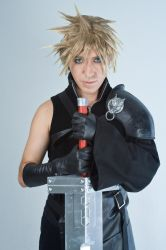 Cloud Strife by vingaard