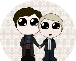 SH and JW by CircusMonsters
