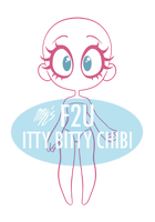Itty Bitty Chibi base (F2U) by Maladoodles
