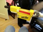 Raising Heart Excellion Mk 2: Nerf gun upgrades by DenWingZero