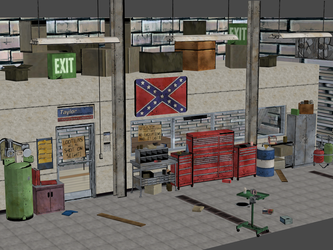 TWD - CRAWFORD AUTOSHOP by OoFiLoO