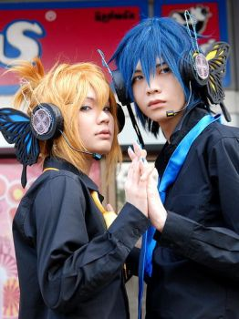 KAITO x Len - MAGNET II by Onnies