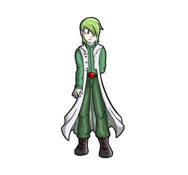 Gardevoir male Gijinka by Splicer02