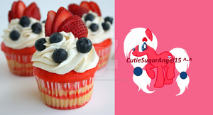 Flag Cupcakes Themed Pony Adoptable~ (CLOSED!) by SugariSweetLolita