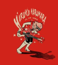 Haruko Vs. The World by savagesparrow