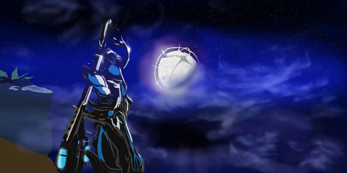 Nidus in the Night by MrShmid